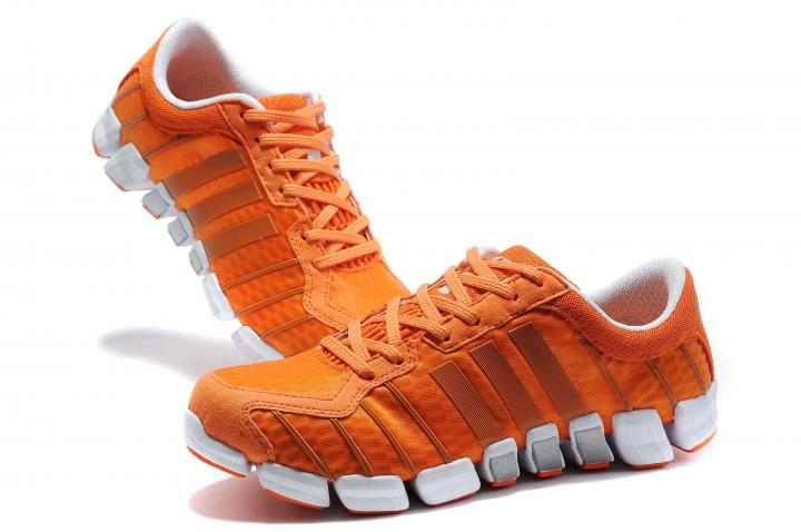 Orange Adidas Running Shoes